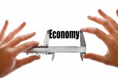 The size of our economy Stock Images