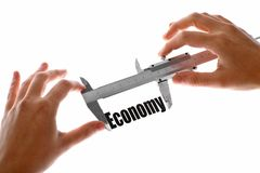 The size of our economy Royalty Free Stock Photo