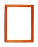 A4 size photo frame isolated Stock Images