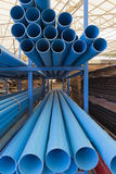 Size of pvc pipes in Materials Warehouse. Size of pvc pipes in Materials  Warehouse Stock Images