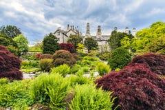 Sizergh Castle, Helsington, Cumbria, England. Stock Images