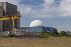 Sizewell A & B Nuclear Power Stations Stock Photos