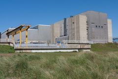 Sizewell A Nuclear Power Station, Suffolk, UK. Royalty Free Stock Photography