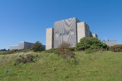 Sizewell A Nuclear Power Station, Suffolk, UK Stock Image