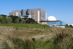 Sizewell Nuclear Power Stations, Suffolk, UK. Stock Image