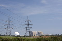Sizewell Power Stations Stock Photography