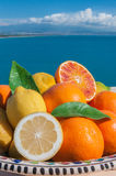 Sizilianische Früchte Stockbild