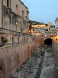 Sizilianische Gebäude lizenzfreie stockfotografie