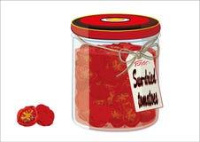 Sizilianische getrocknete Tomaten Lizenzfreie Stockfotos