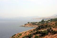 Sizilianische Küstenlinie Lizenzfreie Stockfotos