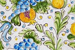 Sizilianische Keramik lizenzfreies stockbild