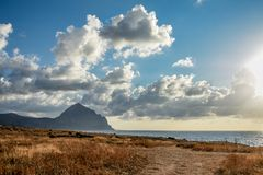 Sizilianische Landschaft Lizenzfreies Stockbild