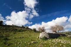 Sizilianische Landschaft lizenzfreies stockfoto