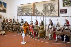 Sizilianische Marionetten Stockfotos