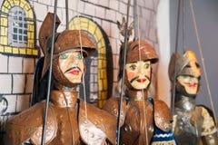 Sizilianische Marionetten Lizenzfreie Stockfotos