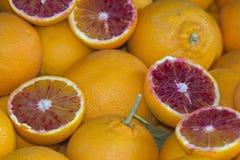 Sizilianische Orangen Stockbild