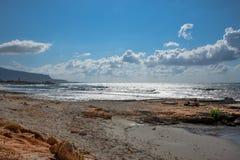 Sizilianischer Meerblick Lizenzfreie Stockfotografie