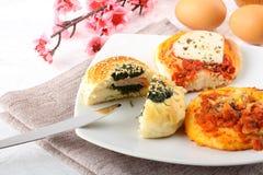 Sizilianischer Rotisserie Lizenzfreies Stockfoto