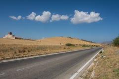 Sizilien auf der Straße Lizenzfreie Stockfotos