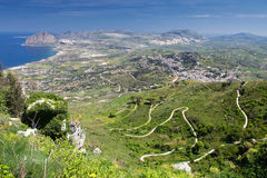Sizilien-Landschaft Lizenzfreie Stockfotografie