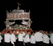 Sizilien-Noto-Fest von San Corrado stockbild