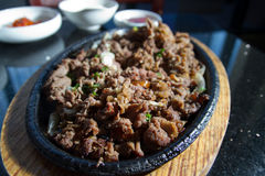 Sizzling Pork Stock Images