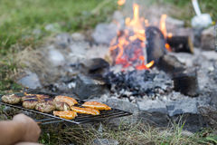 Sizzling Summer BBQ Stock Image