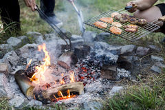 Sizzling Summer BBQ Royalty Free Stock Image