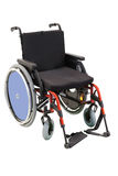 Själv-framdriven rullstol royaltyfri bild