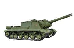 Självgående artilleriinstallation ISU 152 Arkivbilder
