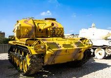 Självgående vapen för USA som M52 fångas av IDF Latrun israel Royaltyfri Foto