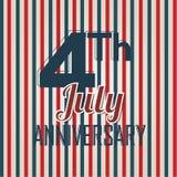 Självständighetårsdag Arkivbild