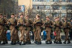 Självständighet av Polen Arkivbilder