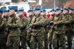 Självständighet av Polen Royaltyfria Foton