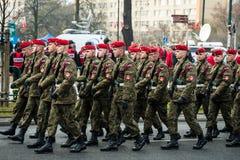 Självständighet av Polen Fotografering för Bildbyråer