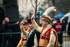 Självständighet av Polen Arkivfoto