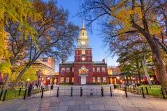 Självständighet Hall av Philadelphia Arkivfoton