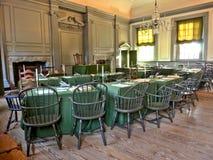 Självständighet Hall i Philadelphia Pennsylvania Arkivfoton