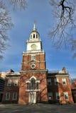 Självständighet Hall i Philadelphia Pennsylvania Arkivbild