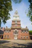 Självständighet Hall, Philadelphia, PA, USA Arkivbilder