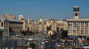 Självständighet kvadrerar, Kiev Royaltyfri Foto