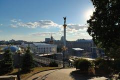 Självständighet kvadrerar, Kiev Royaltyfria Foton