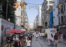 Självständighetaveny, Istanbul Royaltyfri Bild