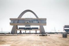 Självständighetfyrkant i Accra, Ghana Arkivfoton