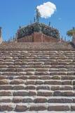 Självständighethjältar i Humahuaca, Argentina Arkivbilder