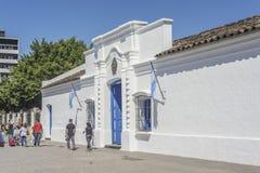 Självständighethus i Tucuman, Argentina royaltyfri foto