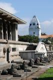 Självständighetkorridoren i Colombo öppnades på 4 Februari 1948 som ett symbol av befrielsen av Sri Lanka från UK-brädet Royaltyfri Fotografi