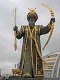 Självständighetmonument Turkmenistan arkivbilder