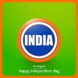 Självständighetsdagen av Indien Royaltyfri Fotografi
