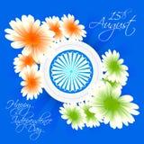 Självständighetsdagen av Indien Royaltyfria Foton
